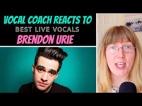 The Honest Vocal Coach Reacts to Brendon Uries Best  Vocals