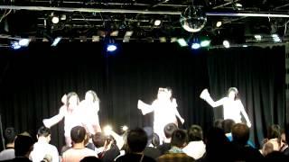 2014年4月29日、ことにパトスで開催されたミルクスの『ミルクスフリーライブ「トレンディバブル魅流駆好〜ランバダまだか?〜」』です。 6曲目終わりのMCその1.