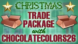 Christmas Trade Package with ChocolateColors26! (2014) Thumbnail