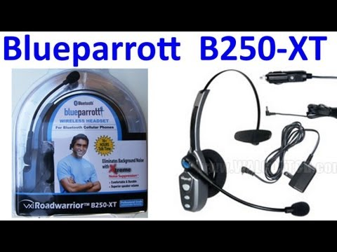 Blueparrott B250-XT Bluetooth Headset for mobile phone