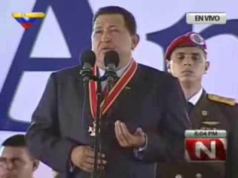 10 Ago 2012 Hugo Chávez en aniversario 75 de la Guardia Nacional Bolivariana