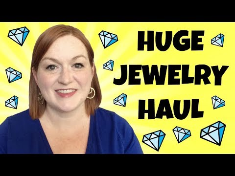 Mega Jewelry Haul - $75 Vintage Jewelry - Finding Gold - How