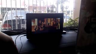 My car theater.