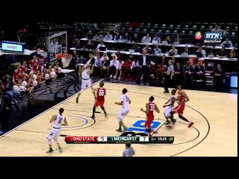 Deyonta Davis Slams it Down vs. Ohio State