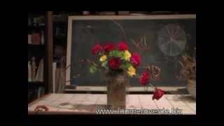 Ikebana con rose - Corso di composizioni floreali