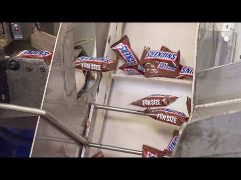 How Snickers Are Made | Mars Chocolate Factory North America
