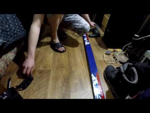 Полужесткие лыжные крепления и их установка.