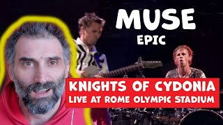 Download lagu Knights of Cydonia - Live at Rome Olympic Stadium - SINGER REACTION