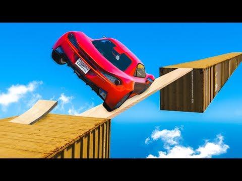 IMPOSSIBLE CAR SKILL TEST! (GTA 5 Funny Moments) thumbnail