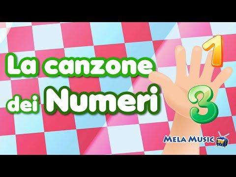 Conta e canta i numeri - canzoni per bambini