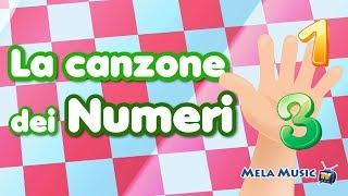 La canzone dei numeri - Canzoni di Mela Music TV @MelaMusicTV