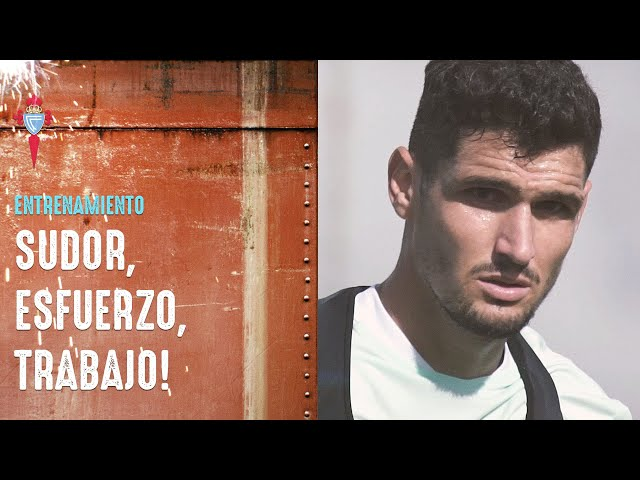 Sudor, esfuerzo, trabajo 💪🔥 ¡Vamos, Celta! | RC Celta