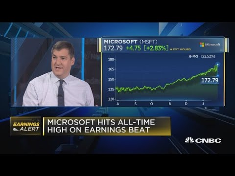 Microsoft Earnings Beat Estimates On Cloud Computing Strength