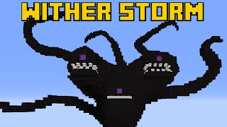 [EL] WITHER IS COMING: Wither Storm in MineCraft (Pixel Art - Giant Build)