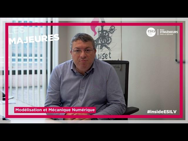 #Majeure Mécanique et Modélisation Numérique