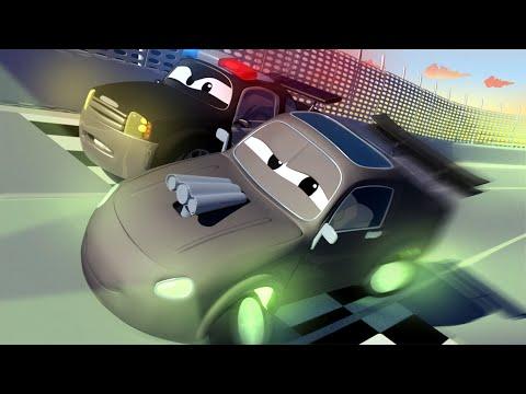 Авто Патруль -  СТРАННАЯ МАШИНА на Детской Площадке! - Автомобильный Город  🚓 🚒 детский мультфильм