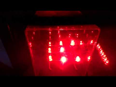 Music controlled leds