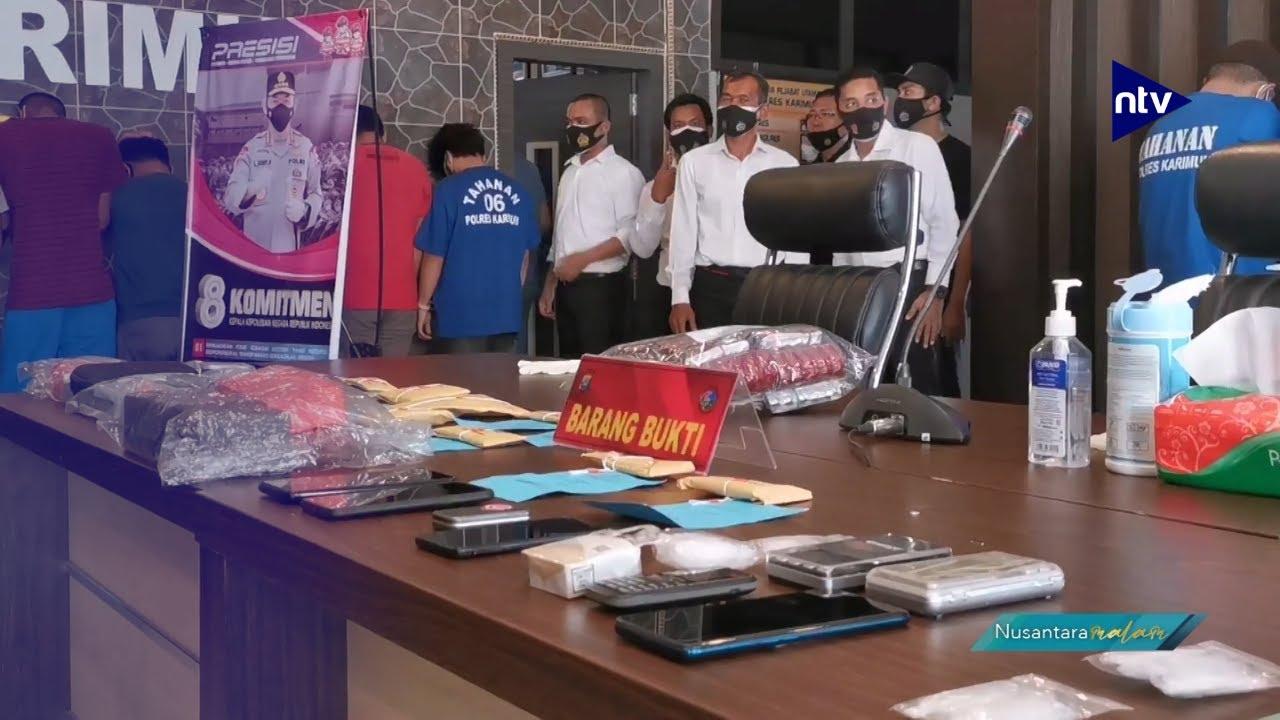 Polisi Gagalkan Penyelundupan Narkotika Happy Five dari Malaysia
