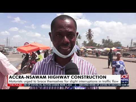 Accra Nsawam Highway Construction - The Pulse on Joy News (19-4-21)