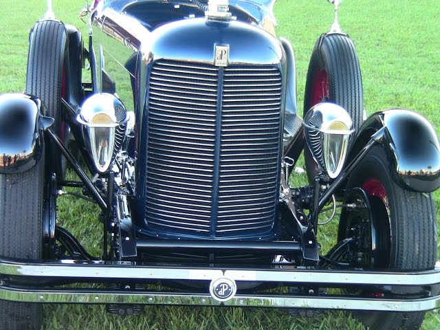 1929 DuPont Speedster G  BluBlk LakeMirrorB101715
