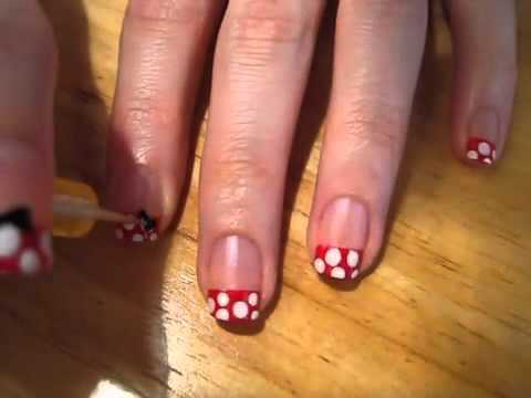 Minnie Mouse Nail Art Download Youtube