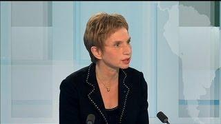 """Laurence Parisot ne se dit """"pas satisfaite"""" du discours de Jean-Marc Ayrault (BFMTV)"""