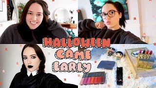 VLOG : Halloween Came Early!
