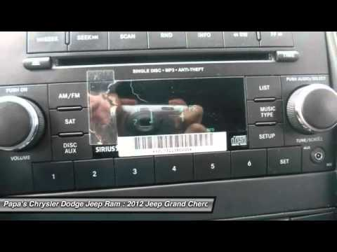 2012 jeep grand cherokee new britain ct 53204a youtube. Black Bedroom Furniture Sets. Home Design Ideas