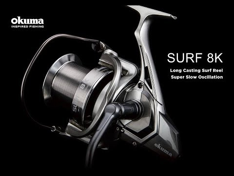 7d57907bcc3 Surf 8K Long Casting Spinning Reel - YouTube