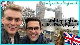 WALKING ON GLASS | TOWER BRIDGE | LONDON EYE | TRAVEL VLOG