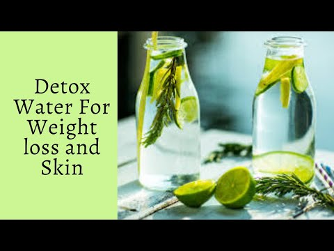 Detox Water for Weight Loss – My Secret Infused Water Recipe 2020