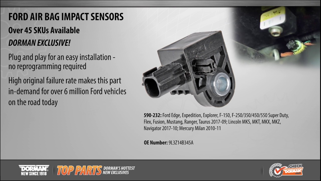 hight resolution of air bag impact sensor