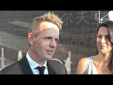 Luke Donald - Interview at The 2012 European Tour Awards Dinner