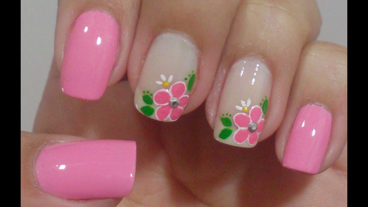 Unhas decoradas irm s g meas manual bela e simples nail - Modelos de unas pintadas ...