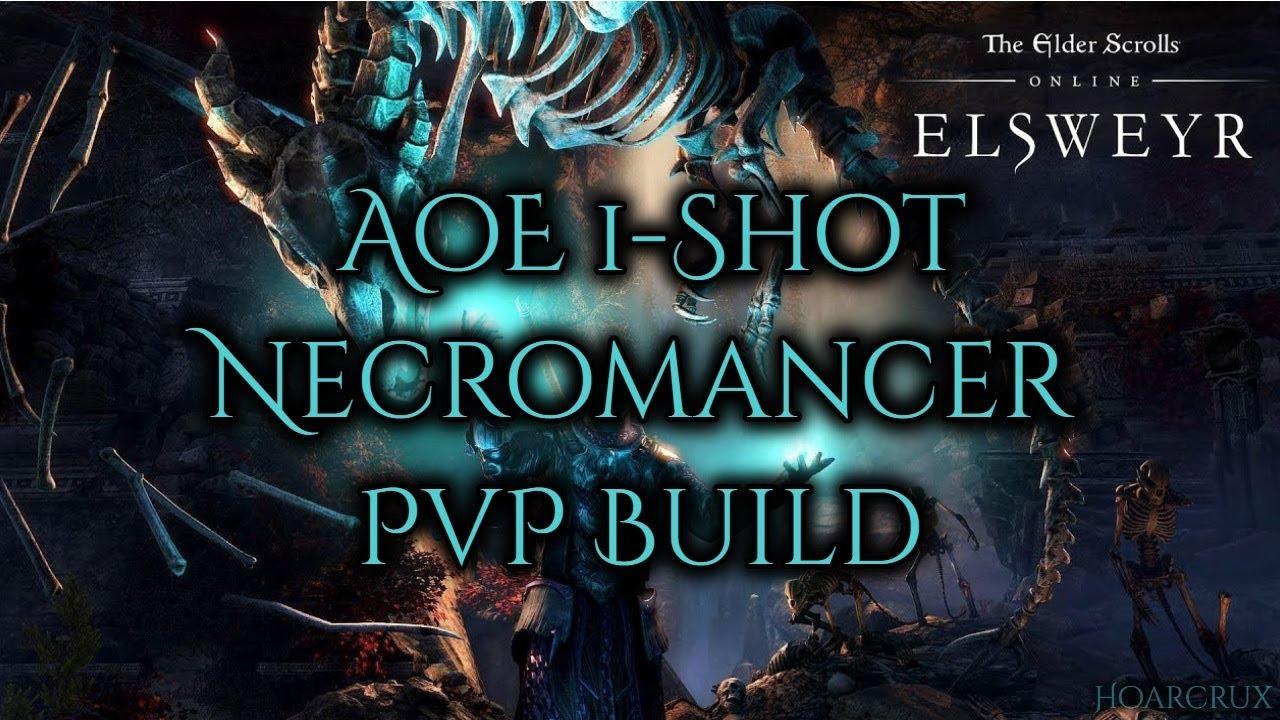 Broken AoE 1-Shot Necromancer PvP Build - ESO Elsweyr