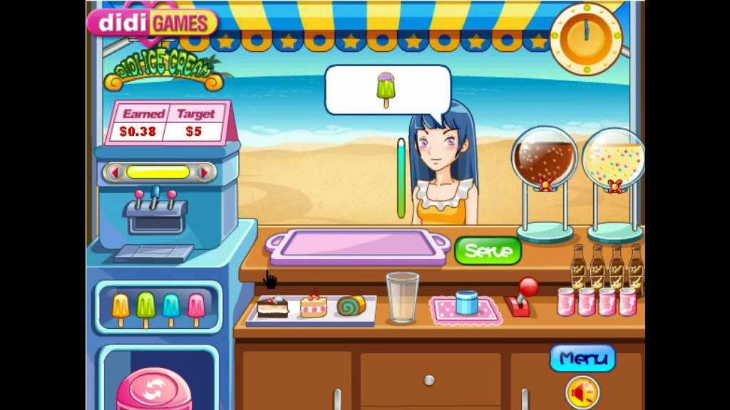 Didi Ice Cream Game - Y8.com Best Funny Online Games by Pakang - YouTube
