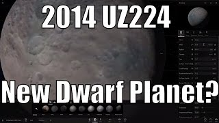 New Minor Planet FOUND and Other Undiscovered Kuiper Belt Objects (2014 UZ224) - Universe Sandbox
