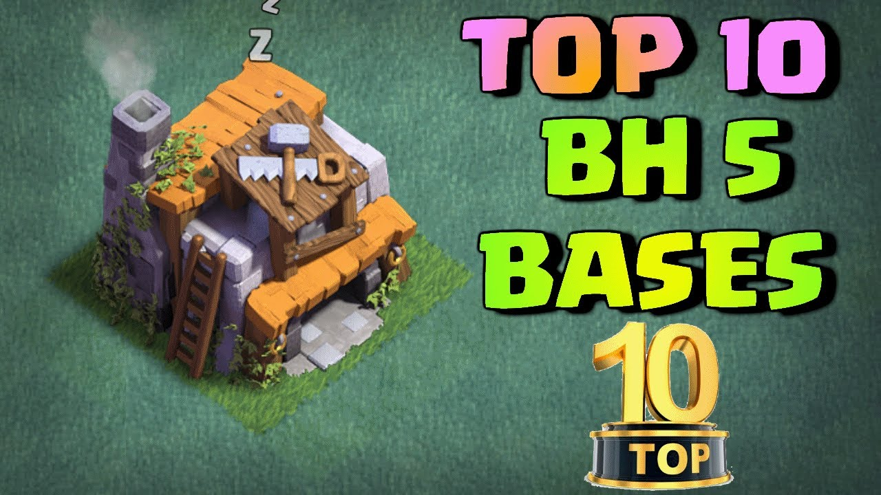 Top 10 Best Builder Hall 5 Bh5 Base Designs New Builder