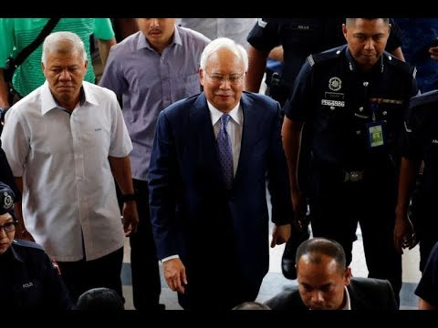 Is Tommy Ready For Prime Time Not At >> Former Malaysia Pm Najib Pleads Not Guilty At Start Of 1mdb Linked