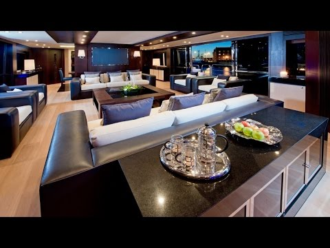 Luxury Yacht Interior Design - YouTube