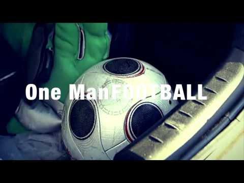 Как играть в футбол одному (One man football) Motivation