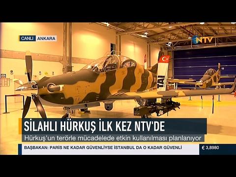 NTV HABER - HÜRKUŞ-C | Yeni Nesil Hafif Taarruz & Silahlı Keşif Uçağı Haberi