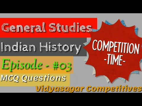 General Studies Ep - #03 (For Competition)|Vidyasagar Competitives|