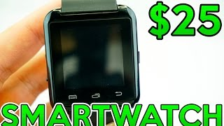 U Watch U8 Smartwatch Review For Android - $25 SmartWatch Test