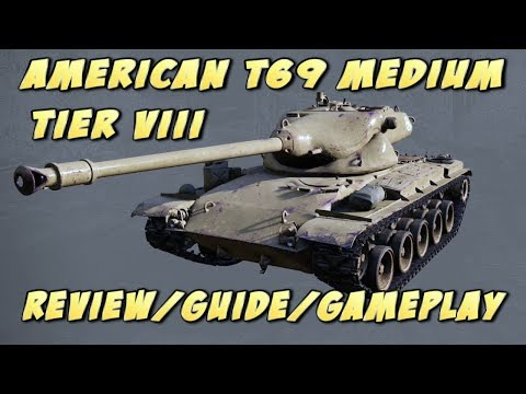 World of Tanks console: American T69 medium tank Review/Guide