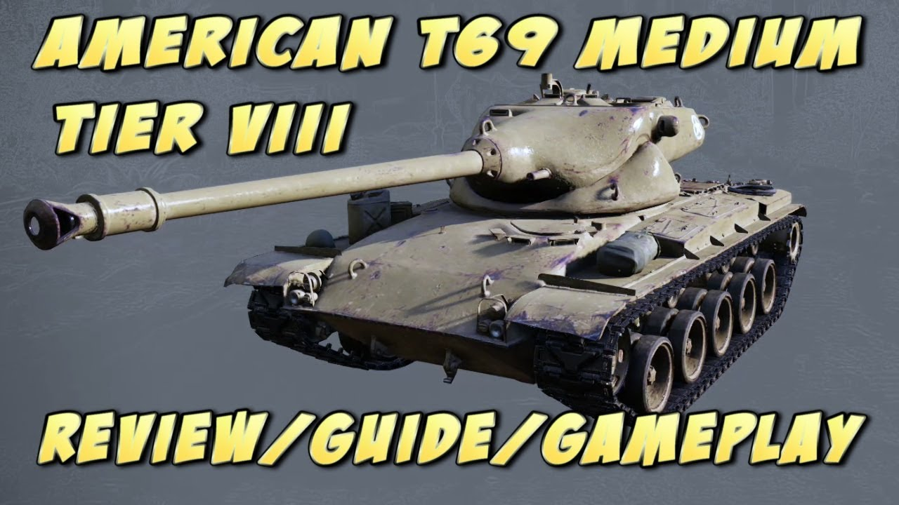 World of Tanks console: American T69 medium tank Review