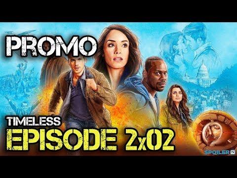 "Timeless 2x02 Promo ""The Darlington 500"""