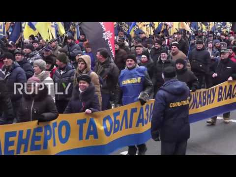 Ukraine: Far-right groups mobilise for day of 'National Dignity' in Kiev
