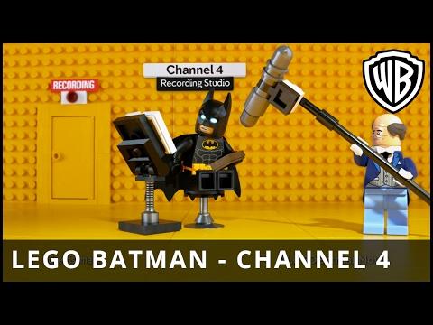 The LEGO® Batman™ Movie – LEGO Batman Channel 4 Continuity Announcements - Warner Bros. UK
