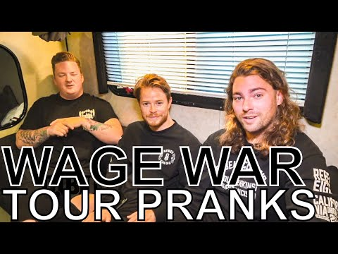 Wage War - TOUR PRANKS Ep. 360 [Warped Edition 2018]